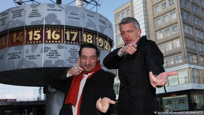 Tatort Berlin Boris Aljinovic und Dominic Raake