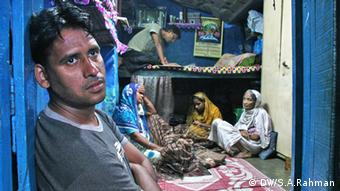 Aftab Alam Ansari at his small shack inside a north Calcutta slum, after being released from police custody. After arresting Aftab in 2007 as mastermind behind nine serial bomb blasts in Uttar Pradesh the same year, police tortured him severely for 22 days to extract confessions from him. (Photo: Shaikh Azizur Rahman)