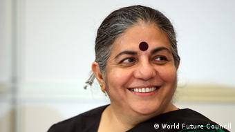 Vandana Shiva, Trägerin des Alternativen Nobelpreises (Foto: World Future Council)