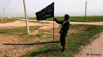 Kämpfer der islamistischen Gruppe Jabhat al-Nusra in Syrien