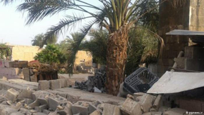 Epizentrum Kaki nahe Bushehr. Richterskala 6.2 *** Rechteeinräumung: Lizenzfrei, pgnews.ir 9. April 2013