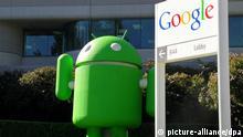 Maskottchen für das Google-Betriebssystem Android