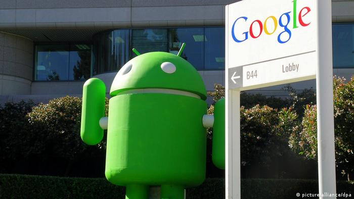 Google's Android mascot