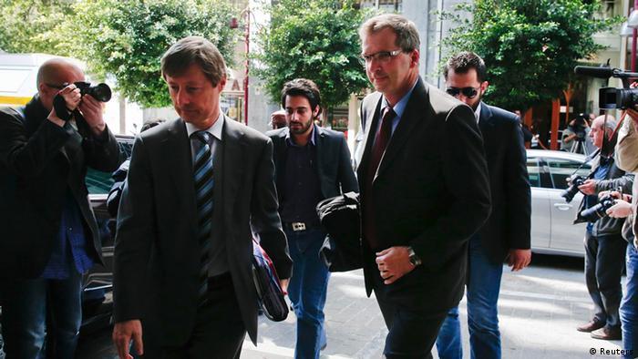 Troika representatives arrive in Athens