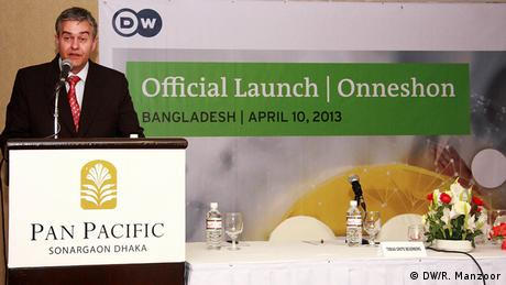 Bangladesch DW launches TV-Magazin Onneshon