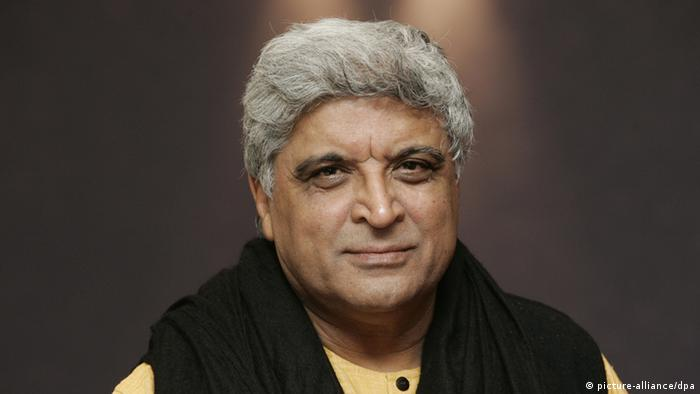 Indien Javed Akhtar (picture-alliance/dpa)