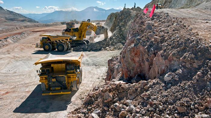 Chile stoppt Bergbau-Projekt Pascua Lama Barrick Gold Corp (Reuters)