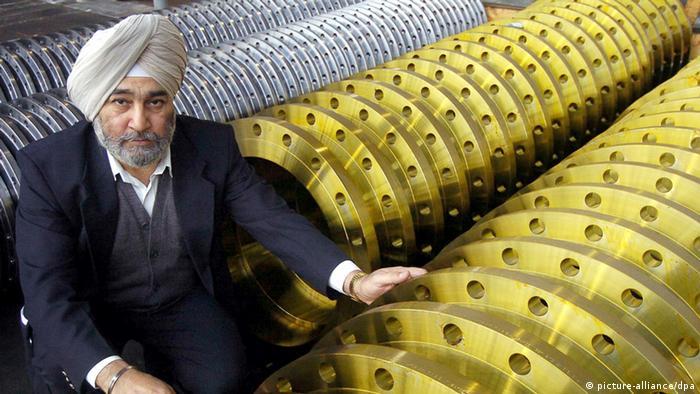Inder Surjit Singh Sethi Produktionsleiter Deutschland Archivbild 2004