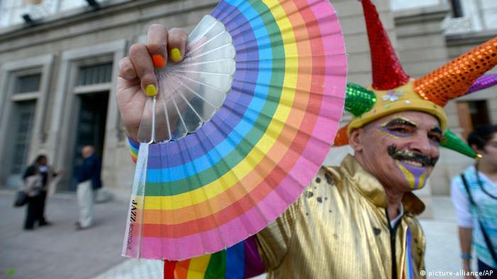 Uruguay Gleichstellung homosexuelle Lebensgemeinschaften Legalisierung Homoehe (picture-alliance/AP)