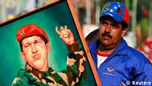 Venezuela Wahl Wahlkampf Präsident Nicolas Maduro