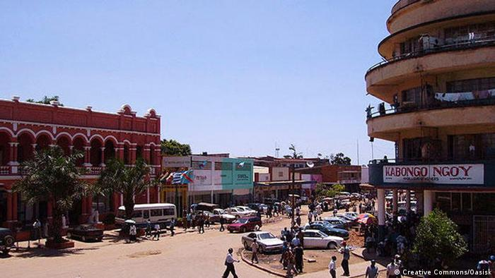 A view of downtown Lubumbashi