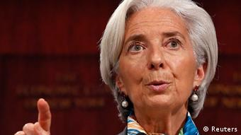 USA Weltbank Rede in New York Christine Lagarde von IWF