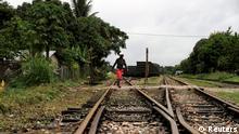 Mosambik Wirtschaft Eisenbahn Strecke nach Beira
