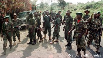 Rebellen im Osten Kongos (Foto: dpa)