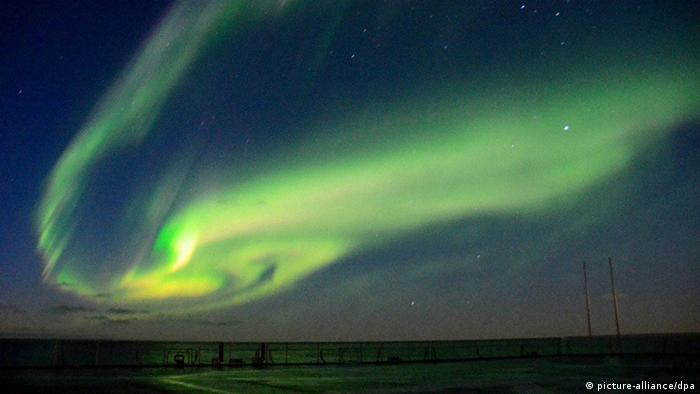 Impressionen Antarktis Polarlichter (picture-alliance/dpa)