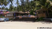 Tourismus in Goa nach Sexualdelikten in Indien. *** Aufgenommen von DW-Korrespondent Murali Krishnan, March 28-31 2013