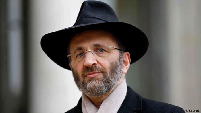 Chief Rabbi of France Gilles Bernheim (photo via Reuters)
