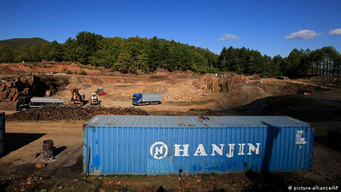 Griechenland Goldmine in Skouries (picture-alliance/AP)