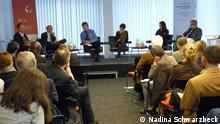 Bonn, Impulsvortrag der DIE zum Europäischen Entwicklungsbericht 2013. Foto: Nadina Schwarzbeck, 11.04.2013, Bonn