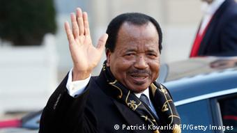 Kamerun Präsident Paul Biya Archivbild 30.01.2013 (Patrick Kovarik/AFP/Getty Images)