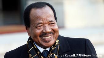Kamerun Präsident Paul Biya Archivbild 30.01.2013