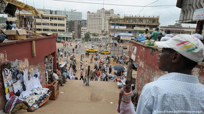 Bazar in Kameruns Hauptstadt Yaoundé Foto: Issouf Sanogo/AFP/Getty Images