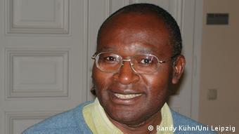 David Simo ist Germanist an der Universität von Yaoundé Foto: Randy Kühn