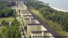 Deutschland Geschichte Prora KdF Seebad auf Rügen