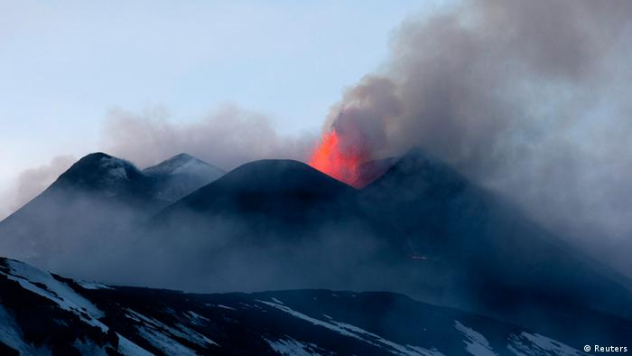 Eruptionen am Vulkan Ätna (Foto: REUTERS/Antonio Parrinello)
