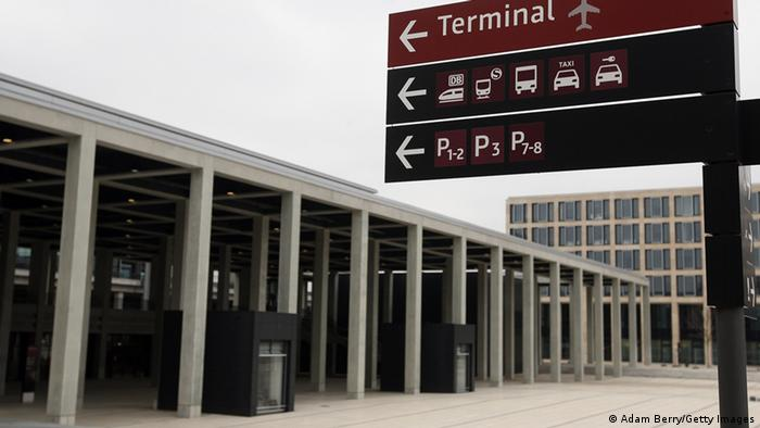 The main terminal building of the still-unopened Berlin Brandenburg International (BER) airport (Photo by Adam Berry/Getty Images)