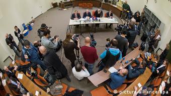 Sala del Tribunal de Múnich en donde tendrá lugar la audiencia.