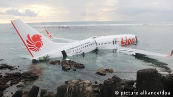 Bali Indonesien Lion Air Flugzeugunglück