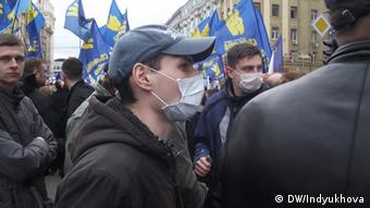 Ukraine Charkiw Protestaktion Opposition