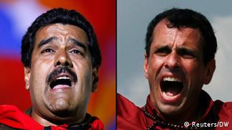 Nicolas Maduro und Henrique Capriles (Bildcombo)