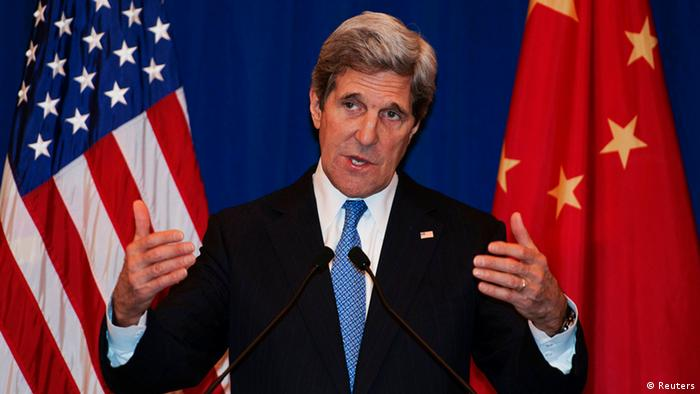 US Außenminister Kerry in China