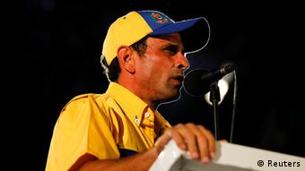 Oppositionschef Capriles (Foto: rtr)