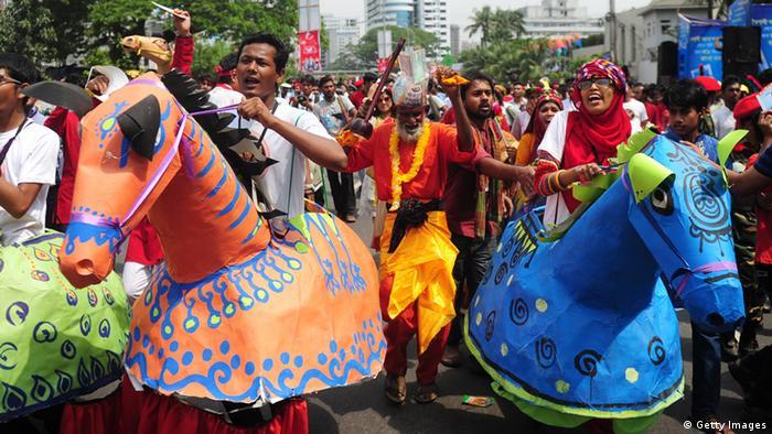 Bildergalerie Bangladesch Neujahr Pohela Boishakh (Getty Images)
