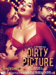 Poster for The Dirty Picture (STRDEL/AFP/Getty Images)