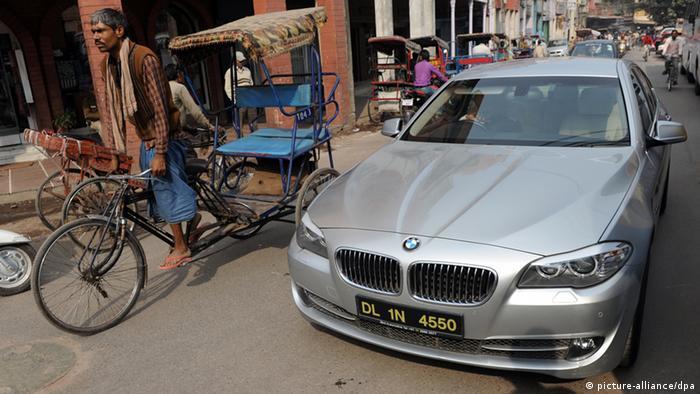 Indien arm und reich