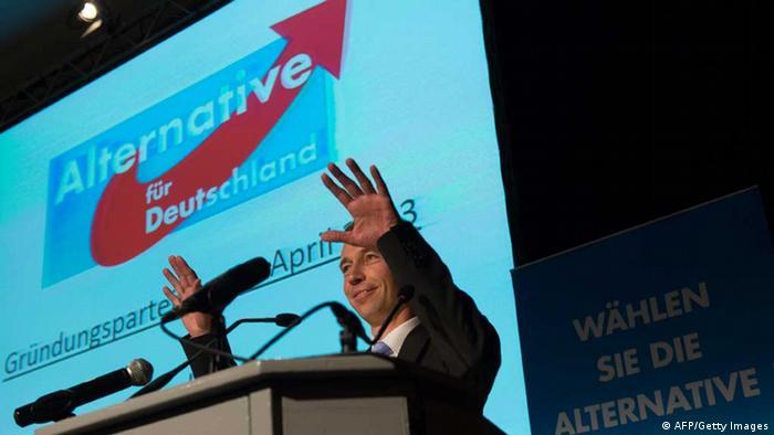 На съезде новой партии Альтернатива для Германии