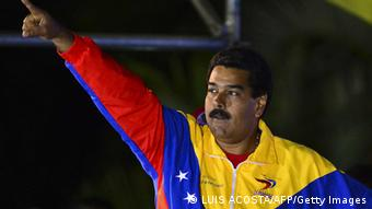 Venezuela Nicolas Maduro Wahlsieg