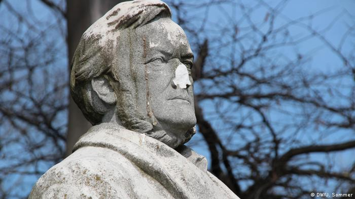 A Wagner bust in Venice DW/ Ulrike Sommer