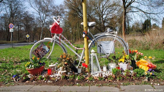 Fahrräder und Frühling in Deutschland