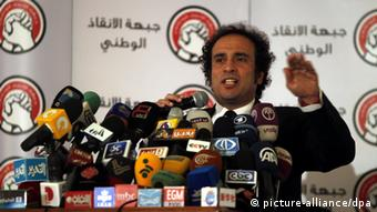 Opposition member of National Salvation Front Amr Hamzawy