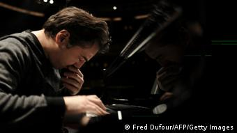 Turkish pianist and composer Fazil Say plays at the Theatre des Champs-Elysees in Paris (c) FRED DUFOUR/AFP/Getty Images