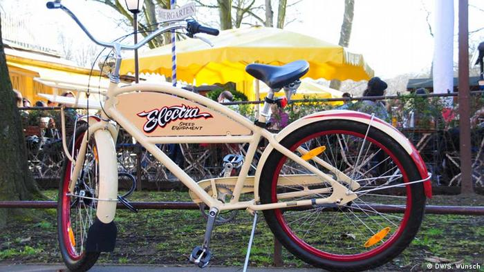 Bicicleta em um parque