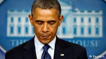 US-Präsident Barack Obama nach Anschlag in Boston