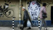 Graffitis in Sofia, Bulgarien