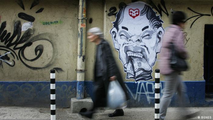 Graffitis in Sofia, Bulgarien