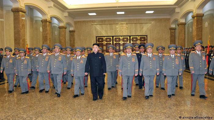 Kim Jong Un Feier 101. Geburtstag Staatsgründer Kim Il Sung